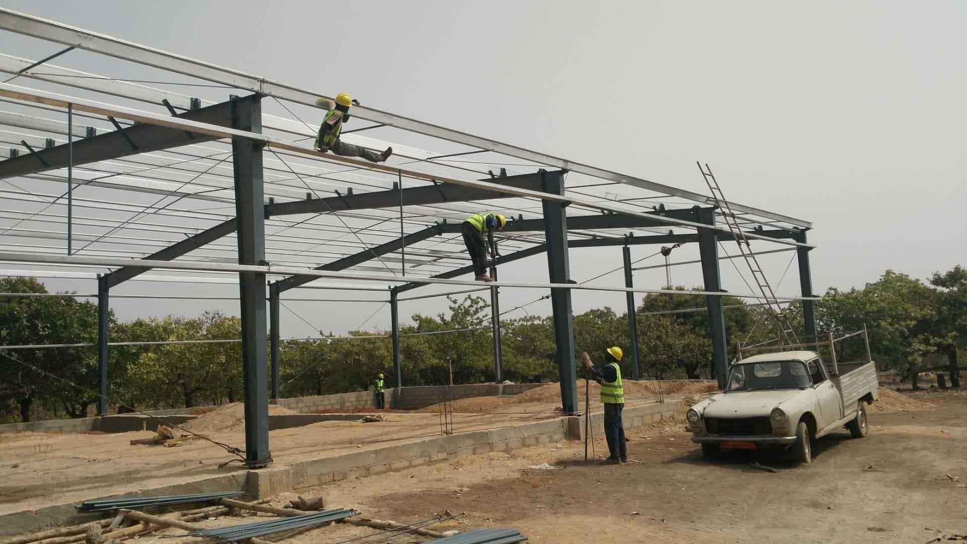 Dorian Build 3600 Square Meters Steel Building in Burkina Faso 05