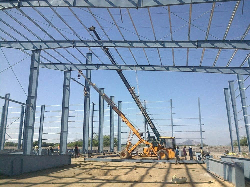 Dorian Build 3600 Square Meters Steel Building in Burkina Faso 06