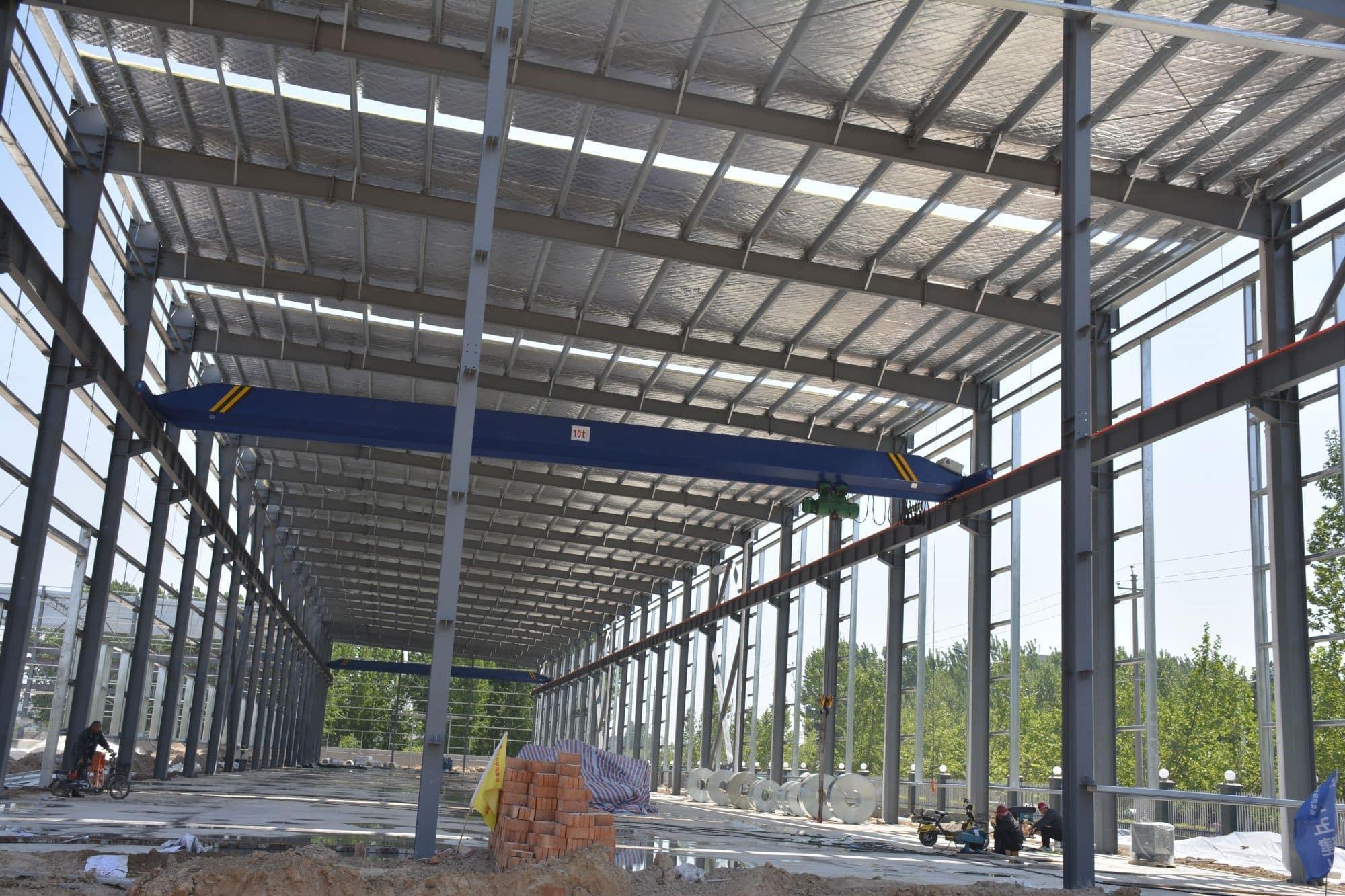 Dorian Build 3600 Square Meters Steel Building in Burkina Faso 07
