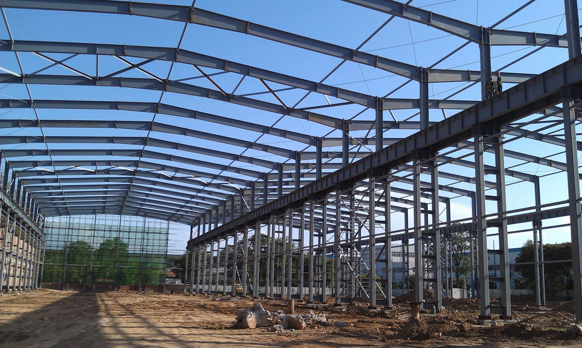 Dorian Build 3600 Square Meters Steel Building in Burkina Faso 08