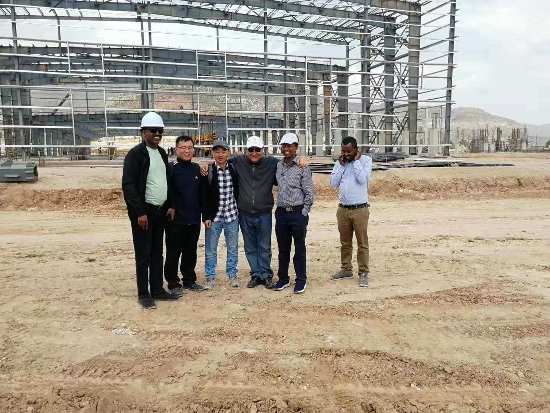 Dorian Build 3600 Square Meters Steel Building in Burkina Faso 09