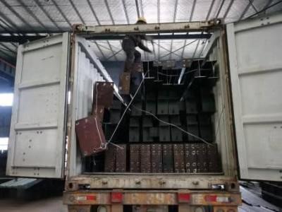 Dorian Prefab Steel Building Ready Shipping to Ghana