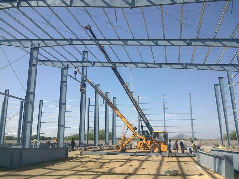 Dorian Build 3600 Square Meters Steel Building in Burkina Faso 06