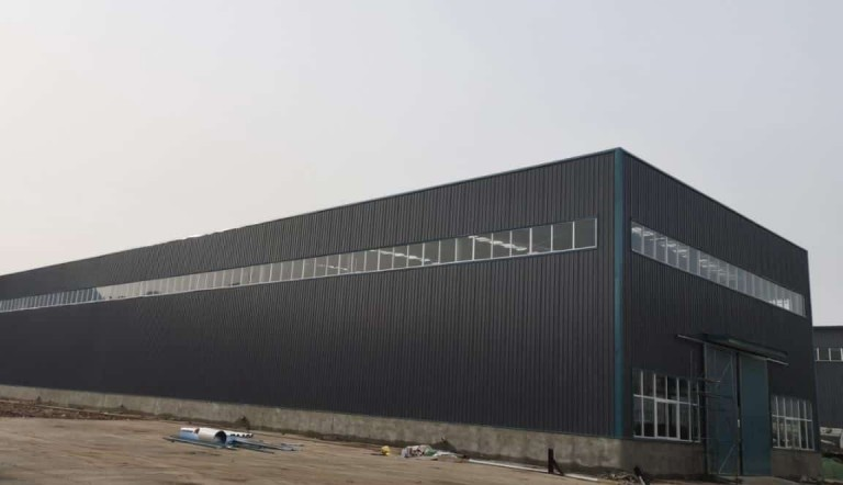 Dorian Prefab Steel Building Ready Shipping to Chile 06